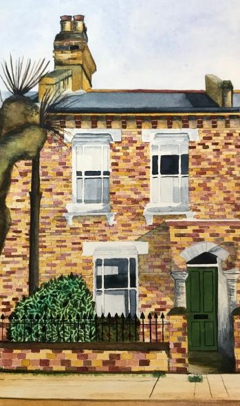 Ealing house portrait