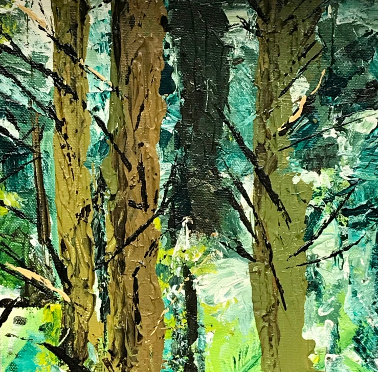 The Structure of Trees (2019) by Annabel Carington