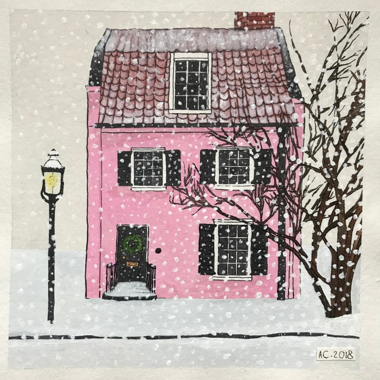 Christmas Cottage, by Annabel Carington