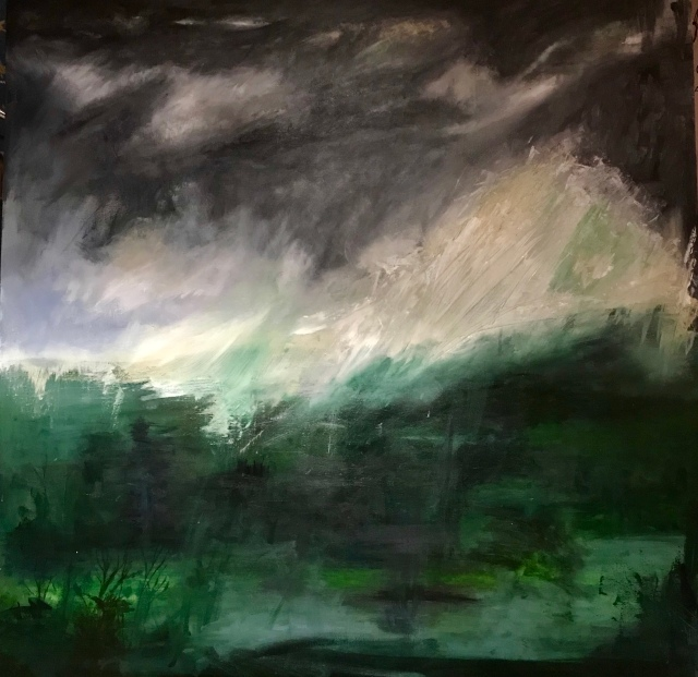 Northumberland in August, by Annabel Carington (2019)